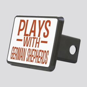 playsgermanshepherds Rectangular Hitch Cover