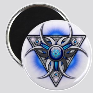 Triple Goddess - blue - transparent Magnet