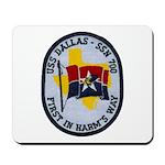 USS DALLAS Mousepad