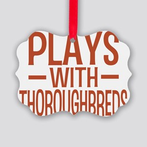 playsthoroughbreds Picture Ornament
