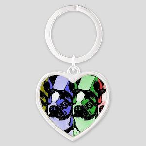 Colorbar Boston Heart Keychain