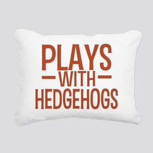 playshedgehogs Rectangular Canvas Pillow
