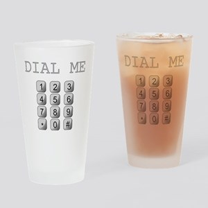 Dial Me Drinking Glass