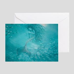 mermaid Greeting Card