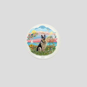 AngelStar-GermanShep16 Mini Button
