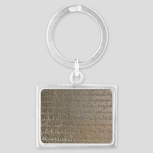 SD-Sanskrit Landscape Keychain