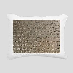SD-Sanskrit Rectangular Canvas Pillow