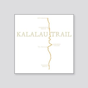 "kalalau Square Sticker 3"" x 3"""