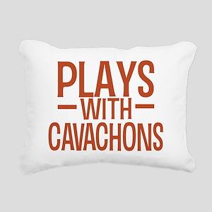 playscavachons Rectangular Canvas Pillow