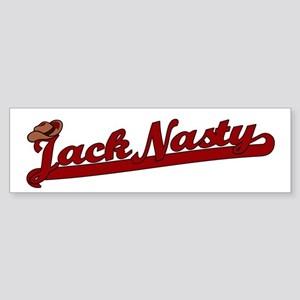 Jack Nasty Bumper Sticker