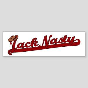 Jack Nasty Bumper Sticker