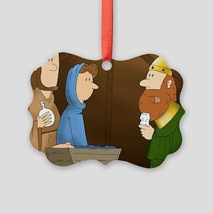 Christmas Myrrhth Picture Ornament