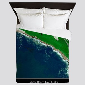 Pebble Beach 18th Hole Queen Duvet