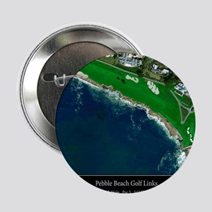 "Pebble Beach 18th Hole 2.25"" Button"