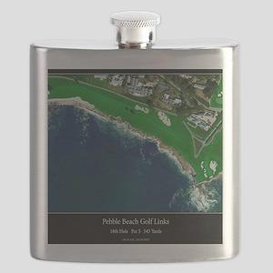 Pebble Beach 18th Hole Flask