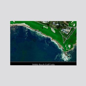 Pebble Beach 18th Hole Rectangle Magnet