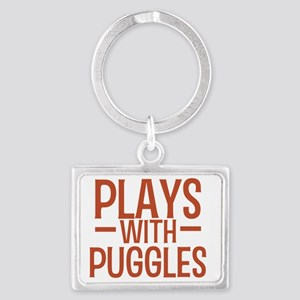 playspuggles Landscape Keychain