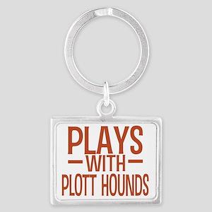 playsplotthounds Landscape Keychain