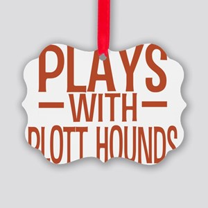 playsplotthounds Picture Ornament