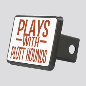 playsplotthounds Rectangular Hitch Cover