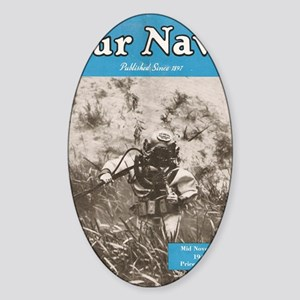Our Navy Diver 1948 Sticker (Oval)