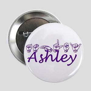Ashley in ASL Button
