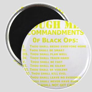 Art_Black Ops Commandments_yellow Magnet