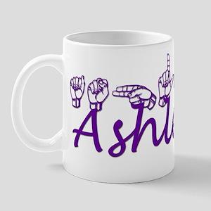 Ashley in ASL Mug