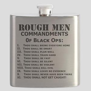 Art_Black Ops Commandments Flask