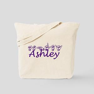 Ashley in ASL Tote Bag
