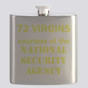 Art_72 virgins_national security agency_yell Flask
