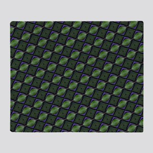 Funky Green Throw Blanket