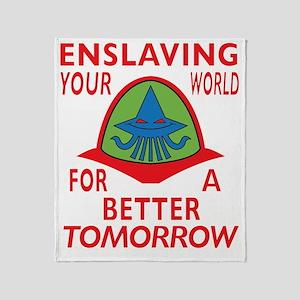 Emperor-Mollusk-Logo-BT Throw Blanket