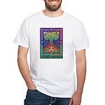 Celtic Tree Of Life White T-Shirt
