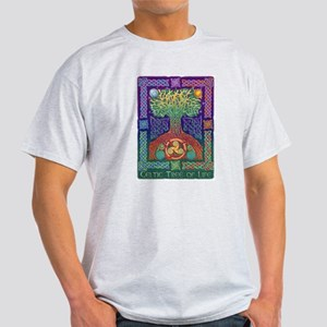 Celtic Tree Of Life Light T-Shirt
