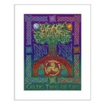 Celtic Tree Of Life Small Poster