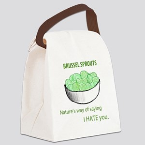 brusselsprouts Canvas Lunch Bag