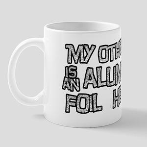 foil hat Mug