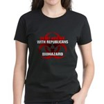 Sex with republicans. Biohaza Women's Dark T-Shirt