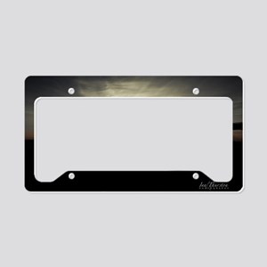 Sunset Mousepad License Plate Holder