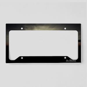 Sunset Mousepad License Plate Holder