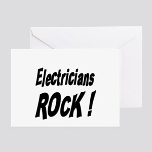 Electricians Rock ! Greeting Cards (Pk of 10)