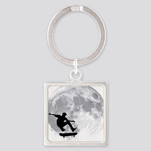 moon Square Keychain