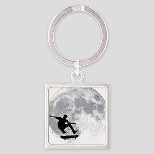 moon Square Keychain