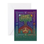 Celtic Tree Of Life Greeting Cards (Pk of 10)