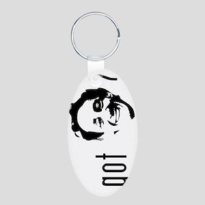 9 bottle Aluminum Oval Keychain