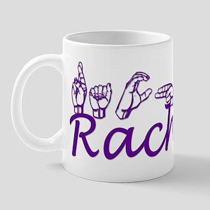 Rachel in ASL Mug