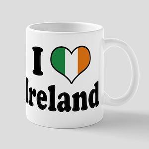 I Love Ireland Tricolor Mug