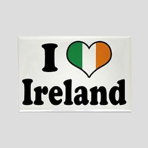 I Love Ireland Tricolor Rectangle Magnet