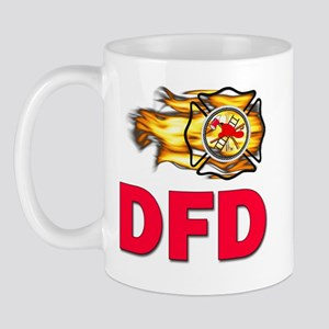 DFD Fire Department Mug